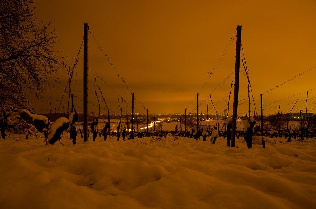 Neige et nuit